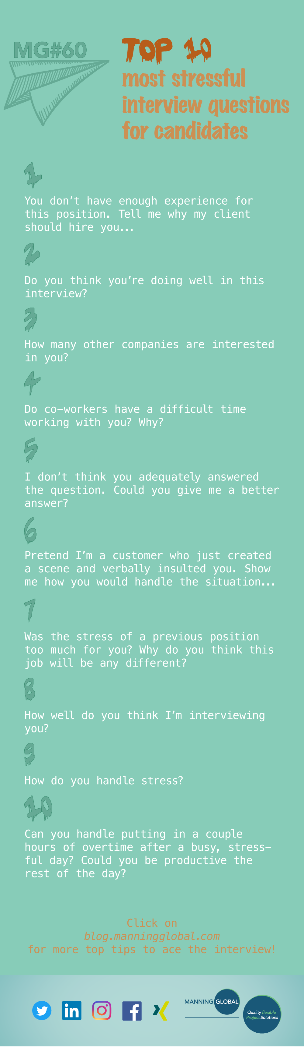 10 stress interview questions to really test your